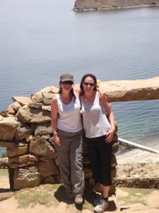 Jane on Isla Del Sol in Lake Titicaca, Peru.