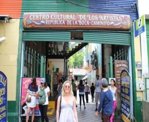 Cultural Centre in La Boca, Argentina gap year