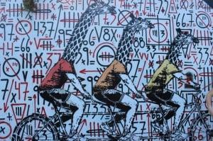 Graffiti in Palermo, Argentina